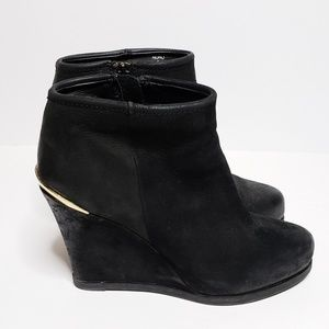 Steven by Steve Madden Wedge Ankle Booties Size 8